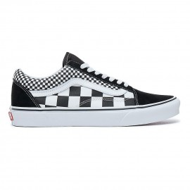 Zapatillas Vans Mix Checker Old Skool negro blanco hombre