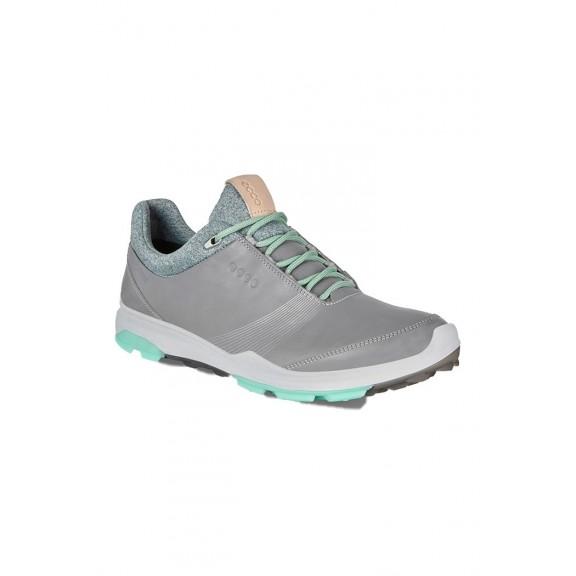 Zapatilla golf Ecco Biom Hybrid 3 gris mujer