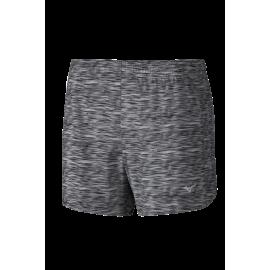 Pantalón corto running Mizuno ImpCore Printed 5.5 gris mujer