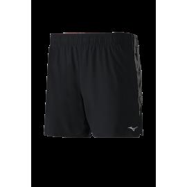 Pantalón corto running Mizuno Alpha 5.5 negro hombre