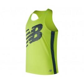 Camiseta competición New Balance Accelerate amarillo hombre