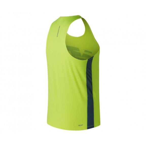 249c33a9ed5be Camiseta Competición New Balance Accelerate Amarillo Hombre ...