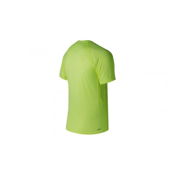 New Balance Tenacity Running Amarillo Mc Hombre Camiseta oerBCxd