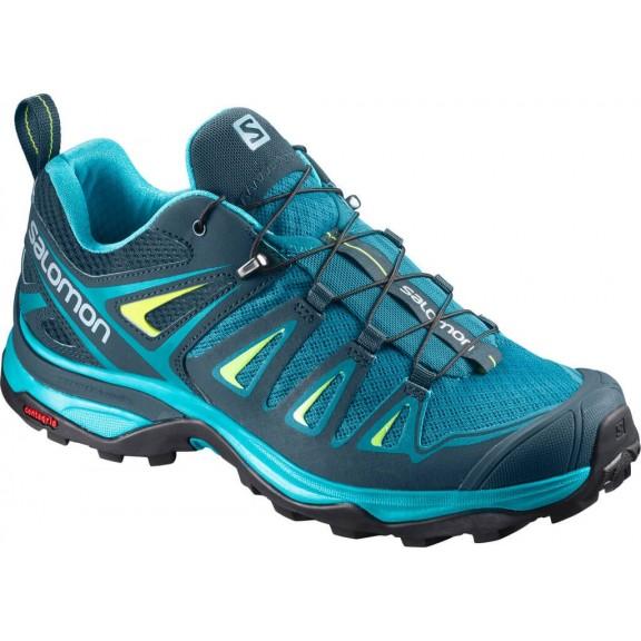 ba9204004abdb Zapatillas Trekking Salomon X Ultra 3 Azul Mujer - Deportes Moya
