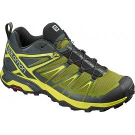 Zapatillas trekking Salomon X Ultra 3 verde/amarillo hombre