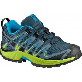 Zapatillas trail runnig Salomon Xa Pro 3D lima junior