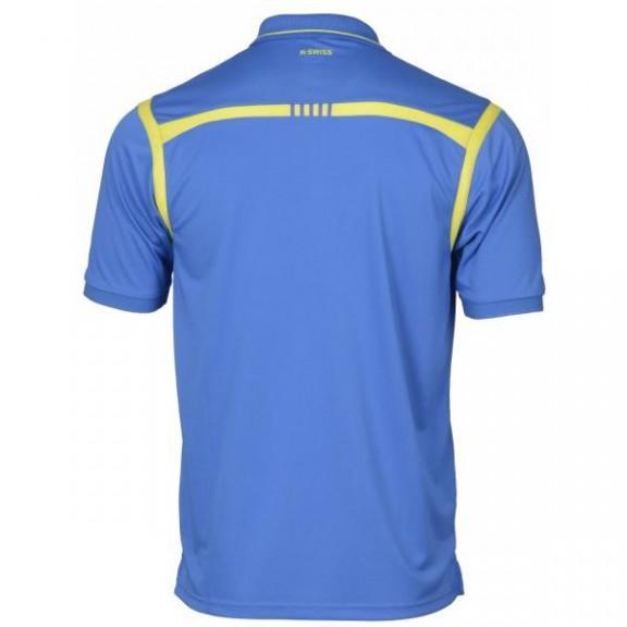 Polo K-Swiss Backcourt azul hombre