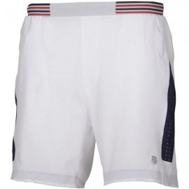 Pantalón K-Swiss Heritage blanco hombre