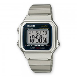 Relój digital Casio B650WD-1AEF plata