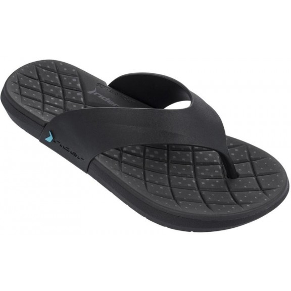 Chanclas Rider Infinity Thong Ad Negro Hombre - Deportes Moya 1a4aceaebd67