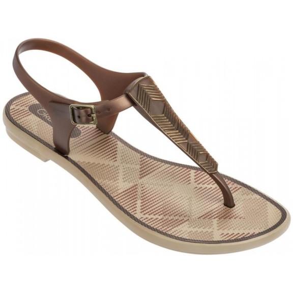 Sandal Romantic Grendha Fem Beigebronce Mujer Sandalias Ii yvN8mwOn0