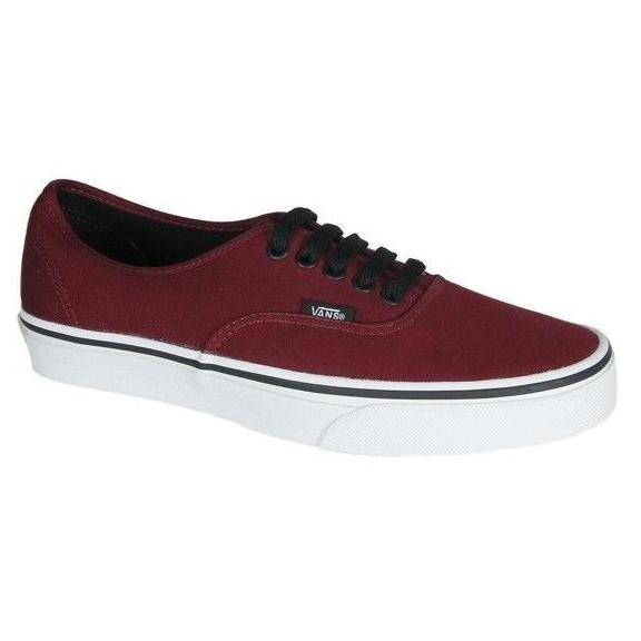 dab109d7b Zapatillas Vans Authentic Granate Unisex - Deportes Moya