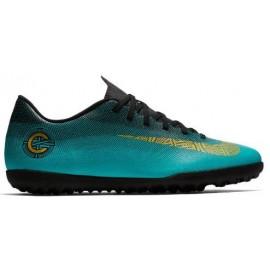 Zapatillas de fútbol Nike Vaporx 12 Club CR7 TF azul hombre