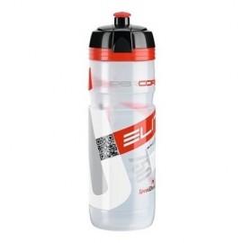Bidon Ellite Corsa transparente rojo bio 550 ml