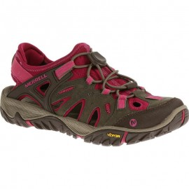 Sandalias trekking Merrell All Out Blaze Sieve fuxia mujer