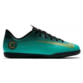 Botas de fútbol sala Nike Jr Vapor 12 Club (GS) CR7 IC verde