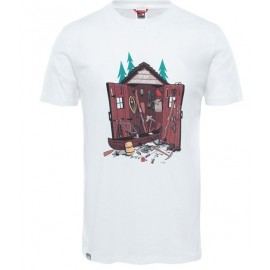 Camiseta M/C The North Face NSE Series blanco hombre
