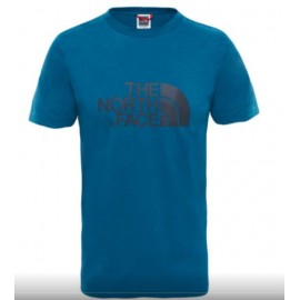 Camiseta M/C The North Face Easy azul coral hombre