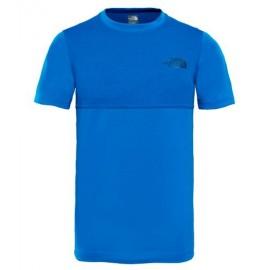 Camiseta M/C The North Face Reactor azul niño