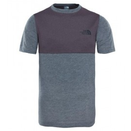 Camiseta M/C The North Face Reactor gris niño