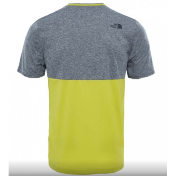 camiseta north face gris