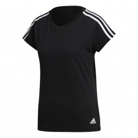 Camiseta Adidas Ess 3S Slim negro/blanco