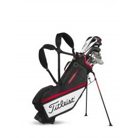 Bolsa de Golf Titleist Players 4 negra/blanca