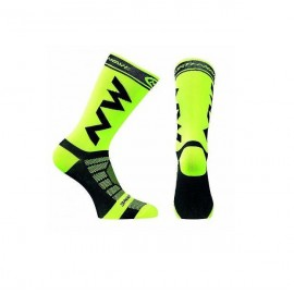 Calcetin Northwave Extreme Light Pro Amarillo Fluor/Negro