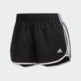 Pantalón corto adidas Woven M10 negro/blanco mujer