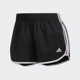 Pantalón corto adidas Woven M10 negro/rosa mujer