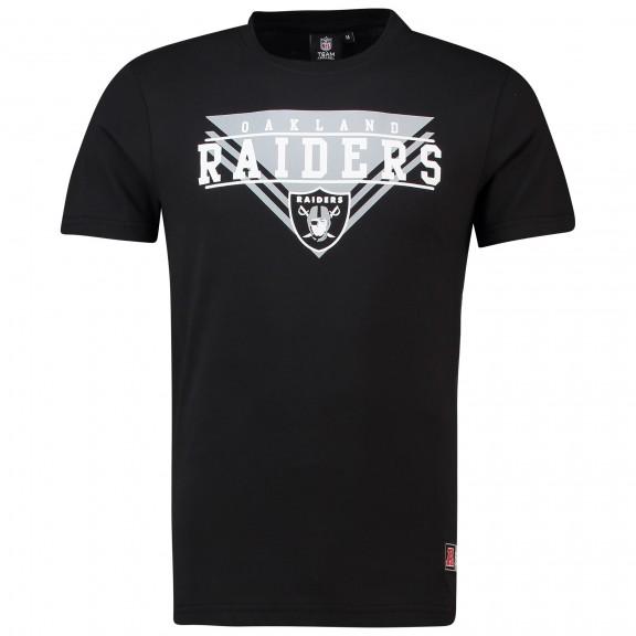 Camiseta Majestic Raiders Alder Negro Hombre - Deportes Moya c94fe9a2075