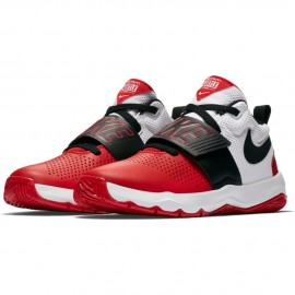 Zapatillas Nike Team Hustle D 8 (GS) rojo/negro junior