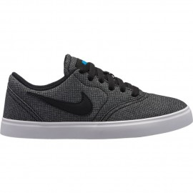 Zapatillas Nike SB Check Canvas (GS) Skateboarding negro jr 274ee6d64f8db