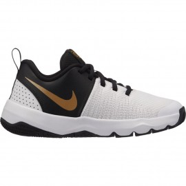 Zapatillas de baloncesto Nike Team Hustle Quick (GS) negro