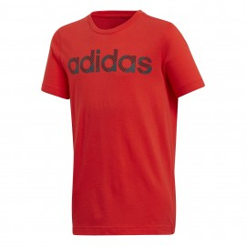 Camiseta Adidas Linear rojo junior