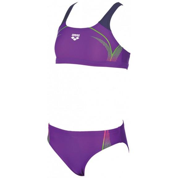 38ffd2a5b313 Comprar Bikini Arena Modular Jr Morado Niña