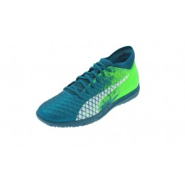 Zapatillas fútbol Puma Future 18.4 TT azul verde junior