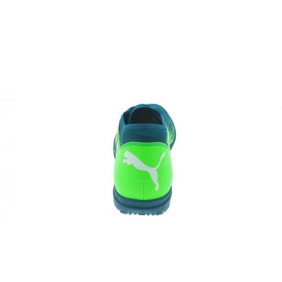 Zapatillas Fútbol Puma Future 18.4 Tt Azul Verde Junior - Deportes Moya 8e59abe7c052c
