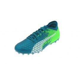 Zapatillas fútbol Puma Future 18.4 MG azul verde hombre