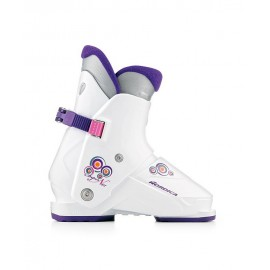 Botas esquí Nordica Super N01 S blanco junior