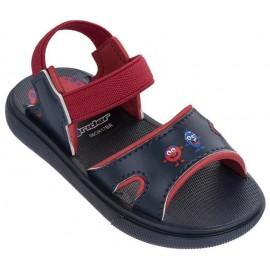 Sandalias Rider Basic azul/rojo bebé