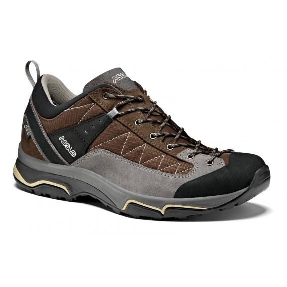 Zapatillas trekking Asolo Pipe Gv Mm marron/gris hombre