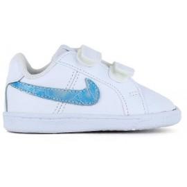 Zapatillas Nike Court Royale (TDV) blanco baby