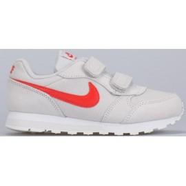 Zapatillas Nike MD Runner 2 (PSV) gris/rojo junior