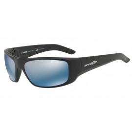 Gafas Arnette Hot Shot An4182 01/22 negro mate lentes azul