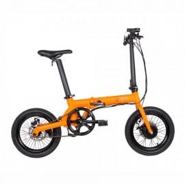Bicicleta BikeFun Oops Electrica Plegable Naranja
