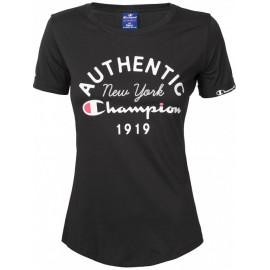 Camiseta Champion Cuello Caja negro