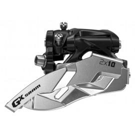 Sram desviador GX 2x10 abrazadera baja 38/36 doble tiro