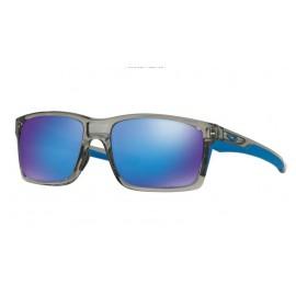 Gafas Oakley Mainlink gris con lentes sapphire iridium