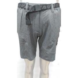 Pantalon Corto Breezy Perdit Gris Jaspeado Mujer